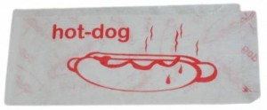 TORBA GASTRO. HOT DOG PE 20cm '200szt.